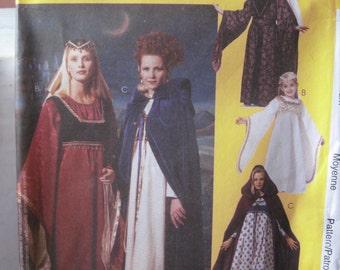 Pattern MC CALLS 8937 medieval dress