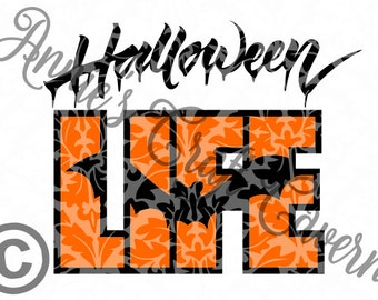 Halloween Life SVG file