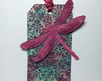 Dragonfly Gift tag/Bookmark