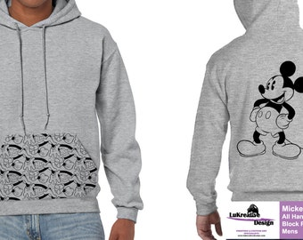 Disney Mickey Mouse All Hands - Mens Hoodie (Hooded Top)