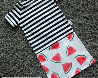 Water melon dress