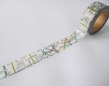 London Underground Tape | London Tube Washi Tape 15mm X 10 Metres