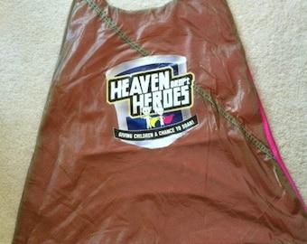 HEAVENDROPt Parachute Superhero Girl's Cape (Honoring Veterans & the Disabled)