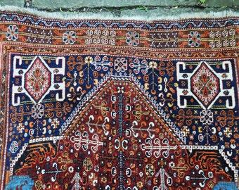 Vintage Persian Kashkuli Rug