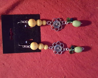 Summer beaded earings