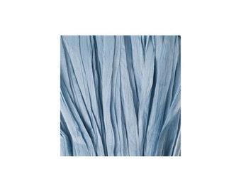 Raffia blue gray Matt - artificial raffia - 10gr - raffia Ribbon - raffia thread