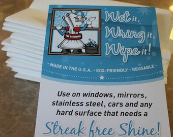 Streak Free Microfiber Cleaning Cloth