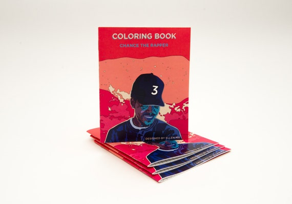 Chance the rapper coloring book by artofema on etsy Coloring book by chance the rapper