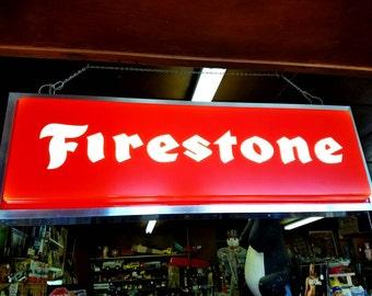 Working Firestone Sign