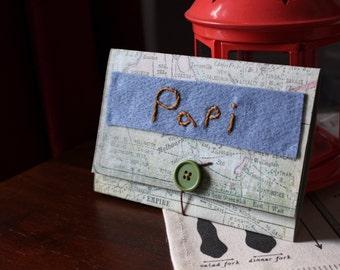 Carte d'anniversaire // Papi // Grand-père // Grand-papa // Carte de fête // Carte de souhait // Cadeau pour lui