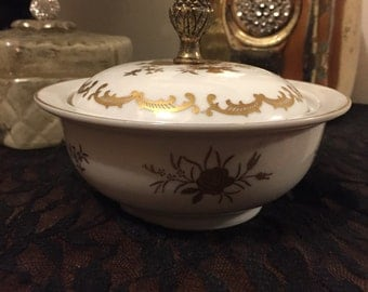Vintage 1940's sugar bowl
