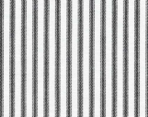 Ticking Stripe Curtain Panels Black And White Stripe Curtains