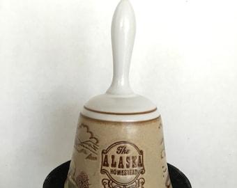 Alaska Homestead Souvenir Bell