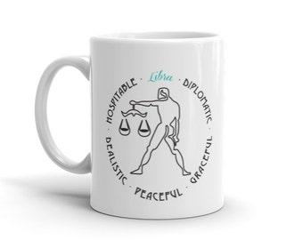Libra Personality Mug, Coffee Mug, Zodiac, Astrology