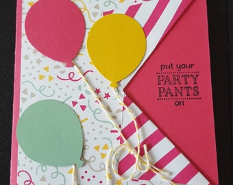 Put your party pants on