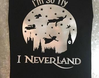 Kids Toddlers I'm So Fly I Neverland Shirt, Disney Peter Pan Shirt, I'm So Fly Shirt Unisex Kids T-Shirt, Girls T-Shirt,Boys T-Shirt