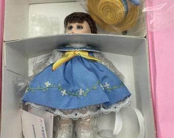"""Madame Alexander 5"""" Porcelain Summer NRFB"""