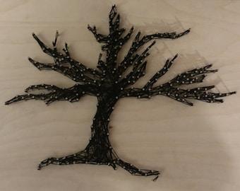 Custom String Art, Tree