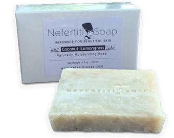 Coconut Lemongrass Handmade Soap