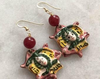 Sicilian Trincaria Earrings