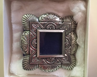 Picture Frame--Heritage Pewter Frame