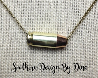 45 Cal Bullet Necklace