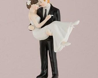 Cake topper - Sposa in braccio