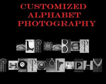Letter Photography Art Word Nature Alphabet Name Individual 4x6 Prints JPG