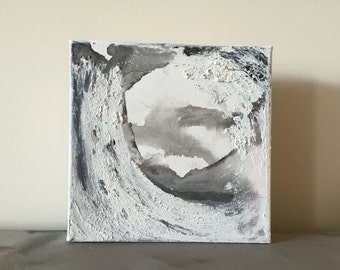 6x6 abstract painting