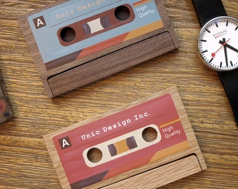 Cassette Business Card Case / Holder