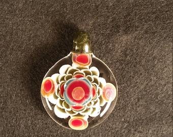Layered glass Pendant