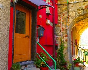 Cinque Terre Italy Doorway