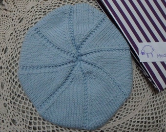 Knitted Beret Hats for Baby