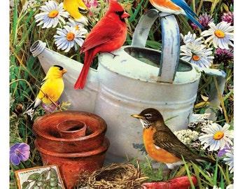 Paint by Number -Junior-Bird Garden