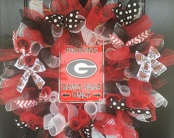 Collegiate or Professional Sports Wreath