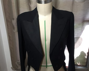 Vintage 1938 tuxedo jacket