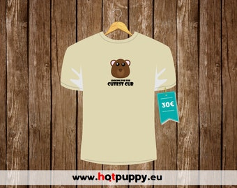 """T-Shirt """"Looking for the Cutest Cub"""""""