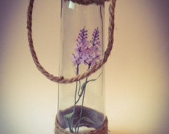 Lavender Jar