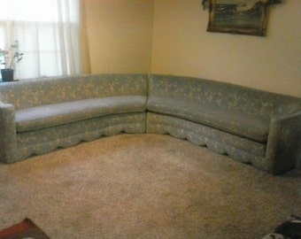 Extremely Rare 1940's vintage sofa sectional ON sale!! Marked down 3,000