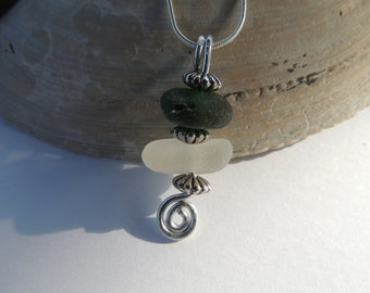 Genuine English Sea Glass Necklace