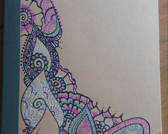 Henna Inspired Notepad
