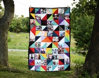 Custom Quilts with Printed Pictures
