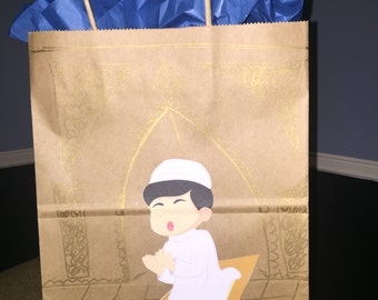 Eid/Ramadan gift bag- Praying Boy