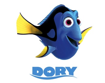 Finding Dory Finding Nemo T shirt Iron on Transfer personlized 8x10 5x6