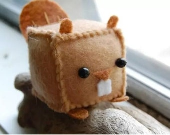 Special Made Stuffed Beaver Collectable