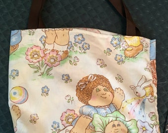Handmade Tote Bag - Cabbage Patch Kids