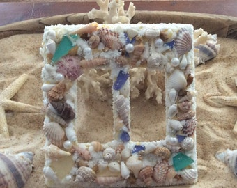 SEASHELL OUTLET COVER