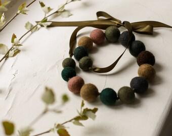 Beads on Ribbon