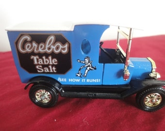 Matchbox Y-12 1912 Ford Model T Cerebos Table Salt   new with box