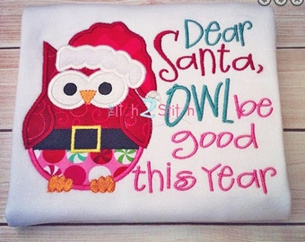 Owl Christmas Shirt